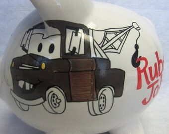 Personalized Piggy Bank Cars