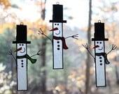 Twiggy the Snowman