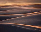White Sands, New Mexico 13 2710 Fine Art Digital Photo 8x10