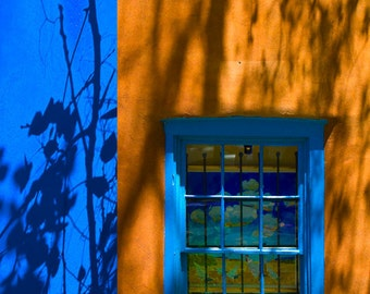 New Mexico Window Fine Art Digital Photo 8x10