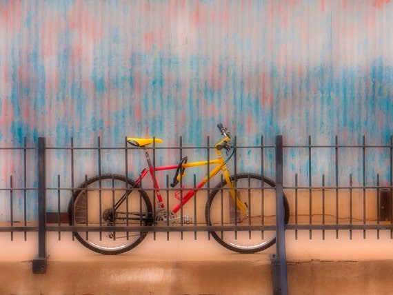 Bisbee Bicycle 2678  Affordable Fine Art Digital Photo for Home and Office 8x10