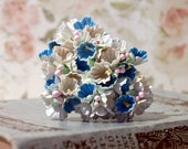 Dainty Millinery Vintage Style Forget Me Not Flowers in Summer's Day Mix