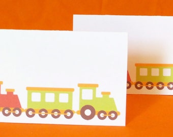 Train Place Cards