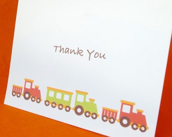 Train Thank you Note
