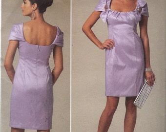 Vogue V1230 Badgley Mischka Designer Dress  Pattern Sizes 16 to 22