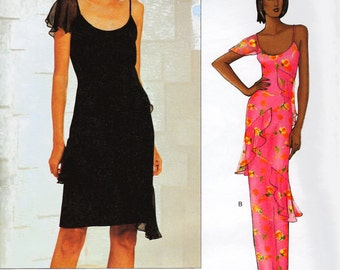 Vogue 2620 American Designer Bill Blass Dress Pattern Sizes 14 to 18 and Sizes 8 to 12