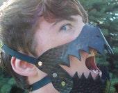SCA Larp Leather mask (read description)