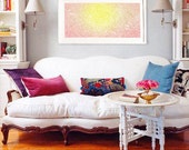 The Morning Sun - Large artwork poster  - 19x36  - Open Edition - large abstract art