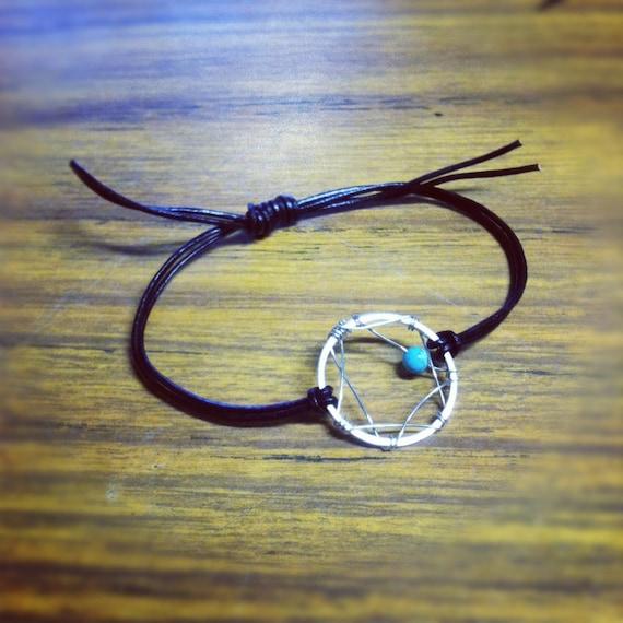 Dreamcatcher adjustable bracelet