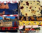 Quilting Fabrics Destash: DOGS Theme