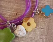 Charm rubber bracelet 9169