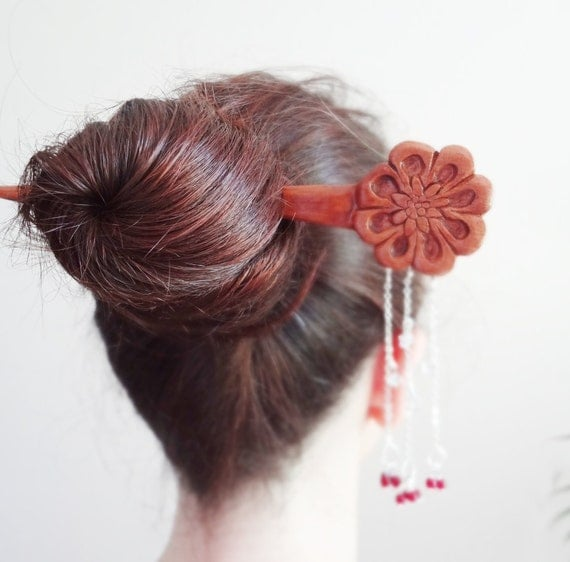 Japanese Kanzashi Hair Stick Geisha Kyoto Asian By