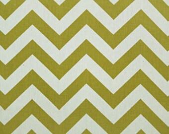 "Two  96"" x 48""  Custom Curtain Panels  - Rod Pocket Panels- Village Green/Natural"
