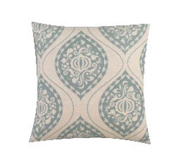 Two 20 x 20 Designer Decorative Pillow Covers - Dwell Studio