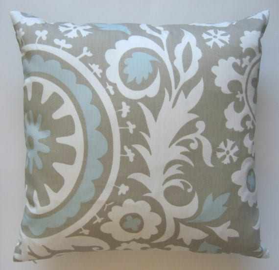 Throw Pillows 26 X 26 : Two 26 x 26 Designer Decorative Pillow Covers in 100% Cotton