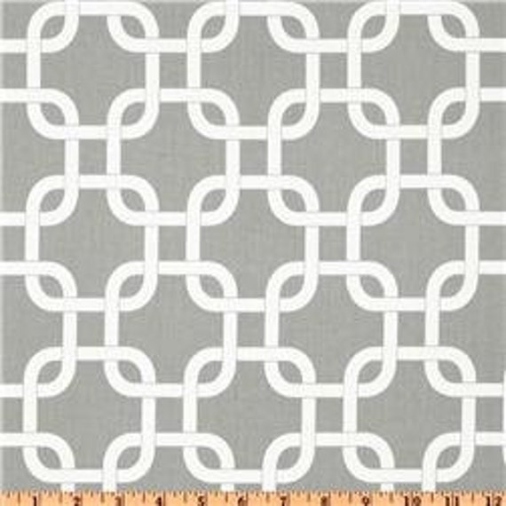 "Two  96"" x 50""  Custom  LINED Curtain Panels - Gotcha Geometric - Grey Storm"