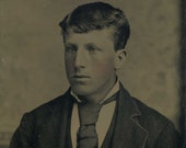 Young Man with Pale Eyes (Tintype)