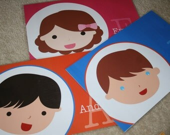 Personalized Children's Placemat (Adorable Me)