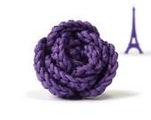 Violet rose ring - original gift from France