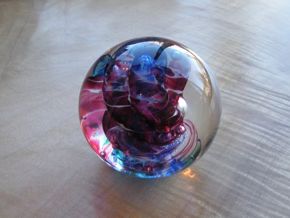 Glass Paperweight - Small or Mini-weight by Jonathan Winfisky