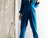 Turquoise Jumpsuit