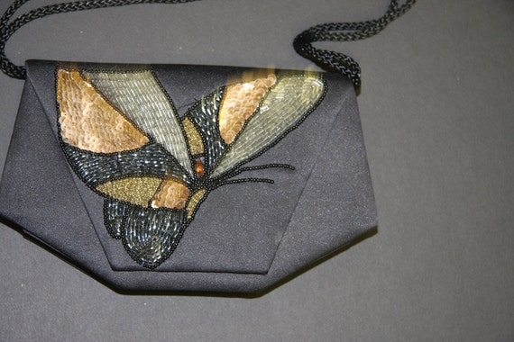 Reserved***Sequin Butterfly Purse