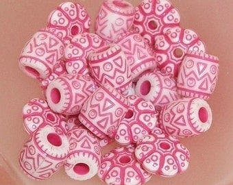 Pink Assorted Beads