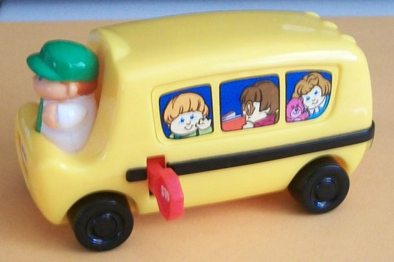 Cake Topper Little Tykes School Bus