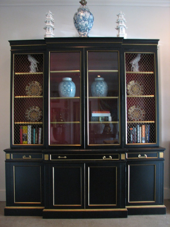 Secretary Bookcase Chinoiserie Karges