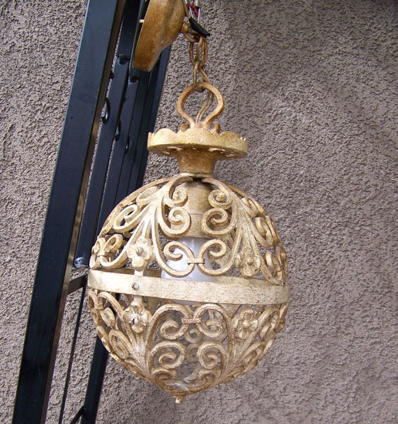 Vintage Feldman Co Chandelier And Sconce Light Fixture