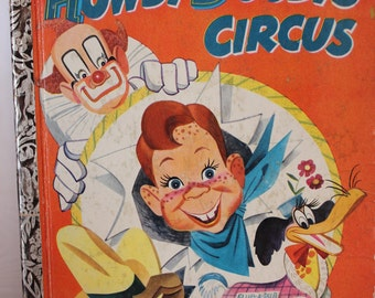 Little Golden Book Howdy Doody's Circus 1950