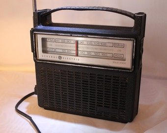 General Electric Solid State Am-Fm Power Radio
