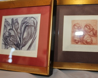 Etchings Signed by Artist