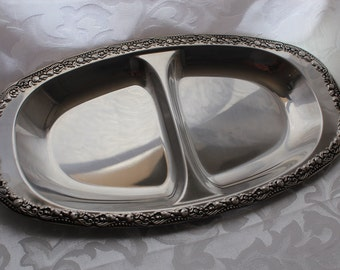 Vintage Double Sided Serving Tray
