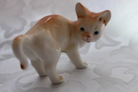 Vintage Enesco Kitten Figurine Needs New Home