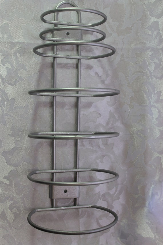 Vintage Motel Hotel Towel Holder Rack