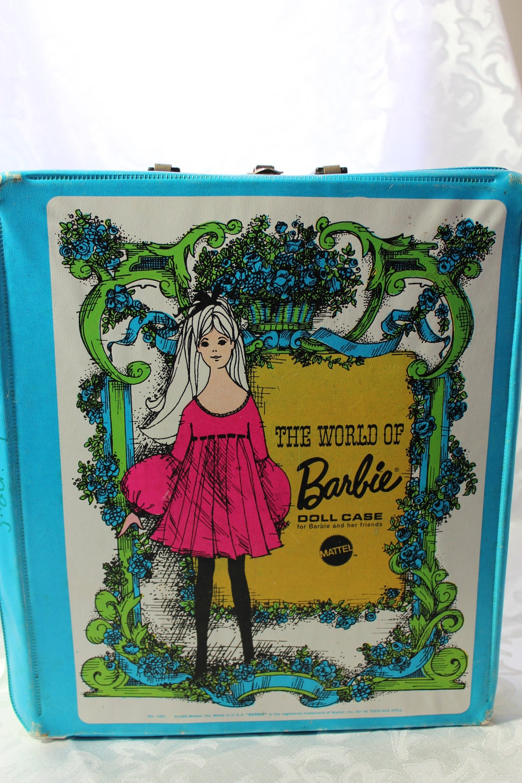 Vintage Barbie Doll Case