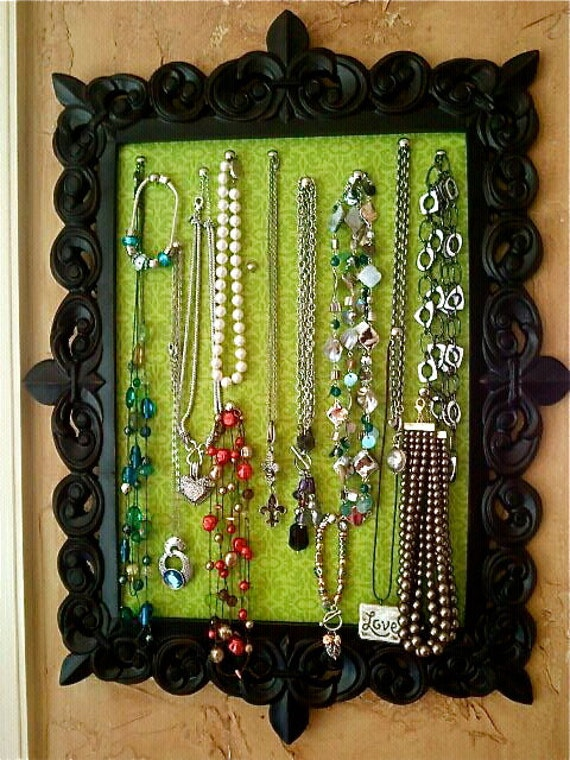 Framed Necklace Display