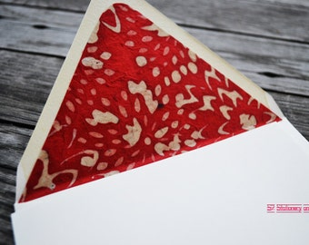 What I Love About You... Note Card Set with Hand Lined Envelopes