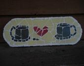 Mosaic I Heart Coffee