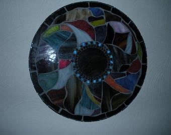Mosaic Mirror in the Round