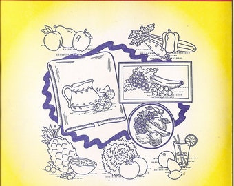 Aunt Martha's Hot Iron Transfers - Fruits and Vegetables