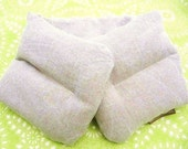 Neck Heating Pad 6x27 HEMP linen Refillable and Washable