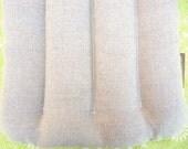 HEAT PACK HEMP 11x14, refillable flax seed small heating pad, Machine wash dry flax seed pillow