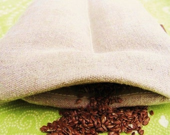 HEMP BAG Heating Pad 6x27 YOUFILL it with rice, corn, flax seed, cherry pits etc heat therapy rice corn bag microwave neck heat pad