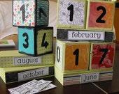 Perpetual Block Calendars-Made to order