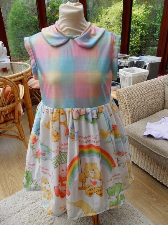 Care Bear Vintage Fairy Kei Dress size UK 6-12