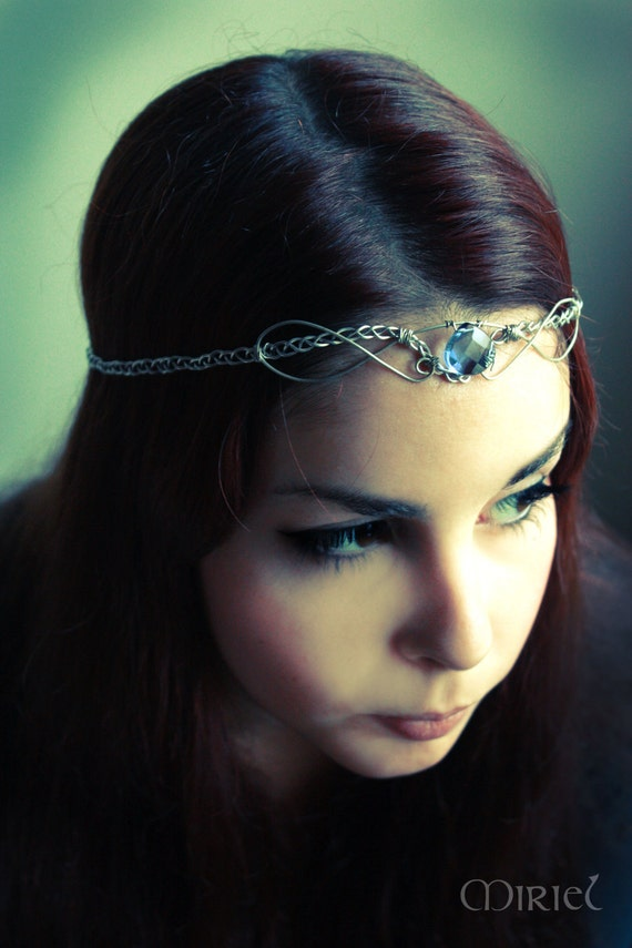 Sale 20 Off Elven Medieval Braided Tiara By Mirieljewelry