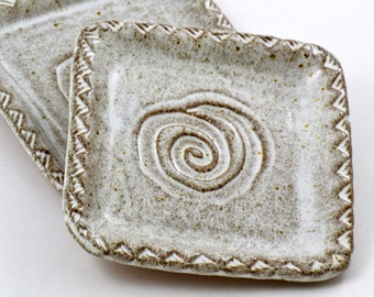 Southwest Swirl Square Plate
