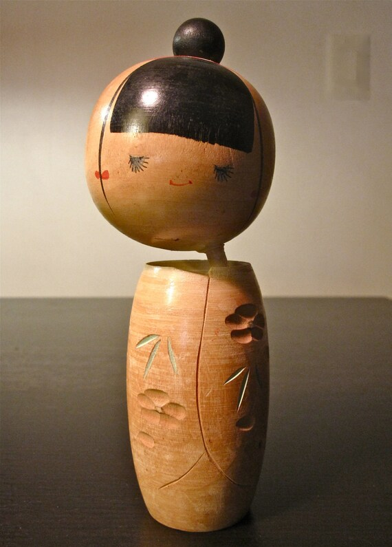 Super Cute and Sassy Vintage Creative Kokeshi Doll - Very Good Condition.